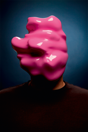 Zach Blas: Facial Weaponization Suite, Fag Face Mask, 2012