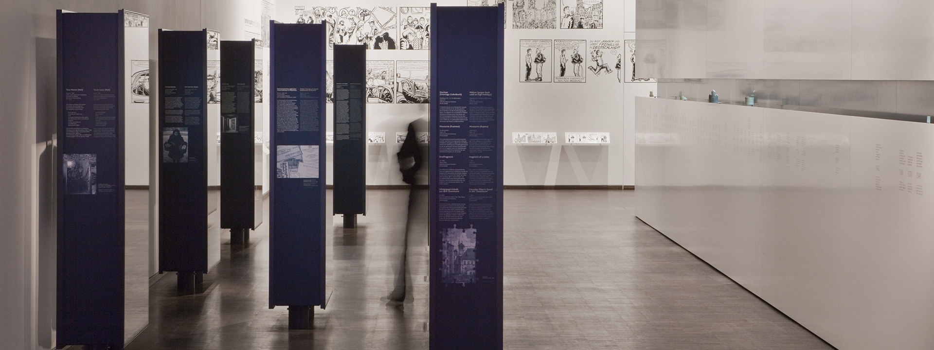 permanent exhibition Voices_Places_Times. Jews in Munich