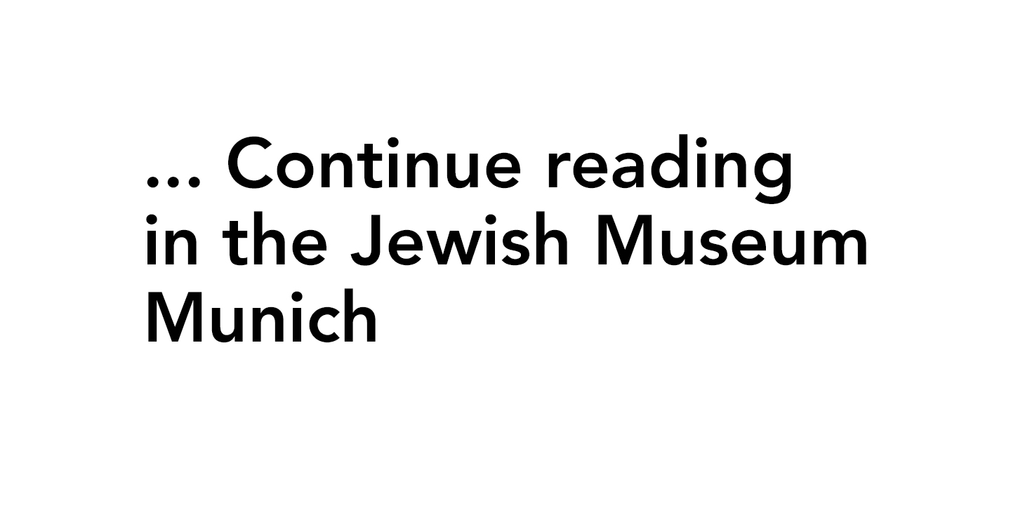 Voices_Places_Times. Jews in Munich